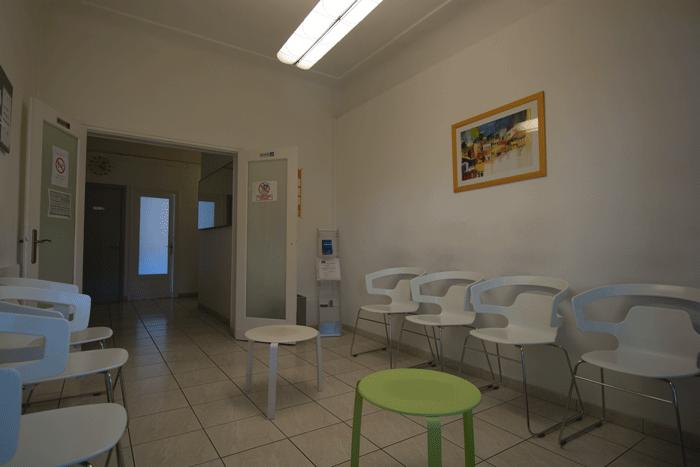 Salle d'attente du cabinet Chaudesaigues Natali
